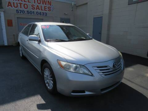 2007 Toyota Camry for sale at Small Town Auto Sales in Hazleton PA
