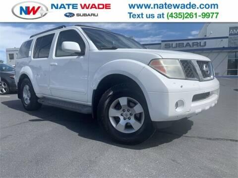 2005 Nissan Pathfinder for sale at NATE WADE SUBARU in Salt Lake City UT