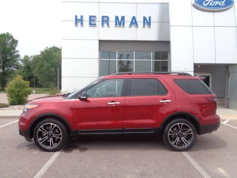 2013 Ford Explorer for sale at Herman Motors in Luverne MN