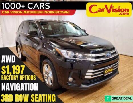 2017 Toyota Highlander Hybrid for sale at Car Vision Buying Center in Norristown PA