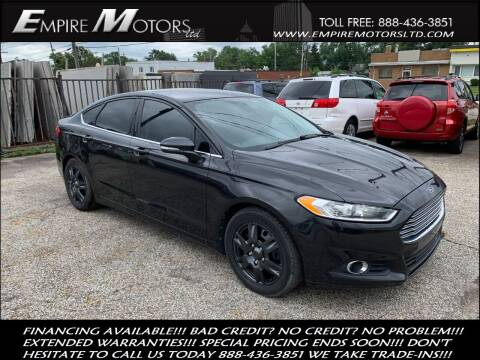2013 Ford Fusion for sale at Empire Motors LTD in Cleveland OH