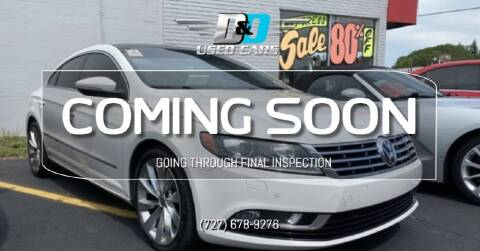 2013 Volkswagen CC for sale at D & D Used Cars in New Port Richey FL