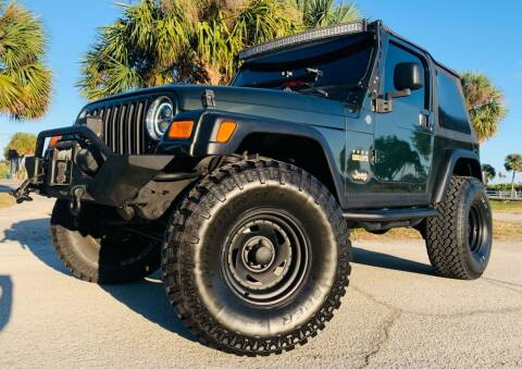 2005 Jeep Wrangler for sale at PennSpeed in New Smyrna Beach FL