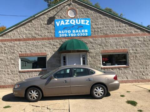2006 Buick LaCrosse for sale at VAZQUEZ AUTO SALES in Bloomington IL