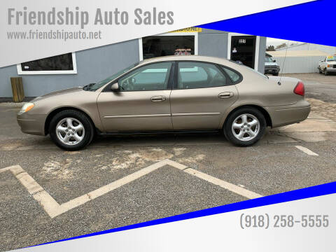 2003 Ford Taurus for sale at Friendship Auto Sales in Broken Arrow OK