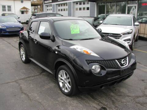 2012 Nissan JUKE for sale at CLASSIC MOTOR CARS in West Allis WI