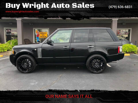 2010 Land Rover Range Rover for sale at Buy Wright Auto Sales in Rogers AR