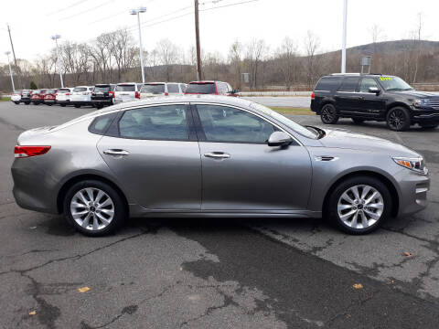 2016 Kia Optima for sale at Feduke Auto Outlet in Vestal NY