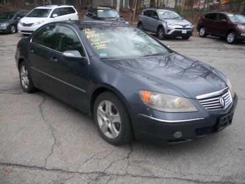 2006 Acura RL for sale at Charlies Auto Village in Pelham NH