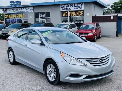 2013 Hyundai Sonata for sale at Stanley Automotive Finance Enterprise - STANLEY DIRECT AUTO in Mesquite TX