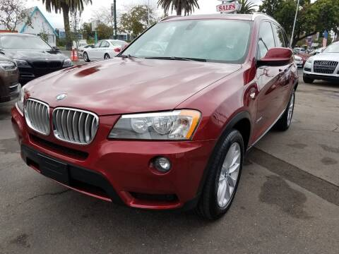 2012 BMW X3 for sale at Convoy Motors LLC in National City CA