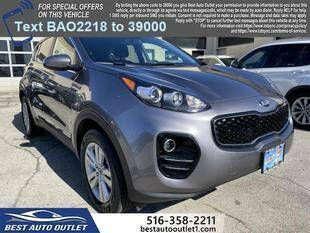 2017 Kia Sportage for sale at Best Auto Outlet in Floral Park NY