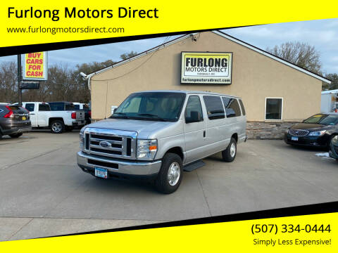 2013 Ford E-Series Wagon for sale at Furlong Motors Direct in Faribault MN