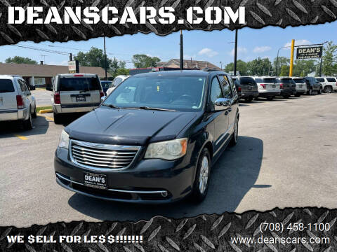 2011 Chrysler Town and Country for sale at DEANSCARS.COM in Bridgeview IL