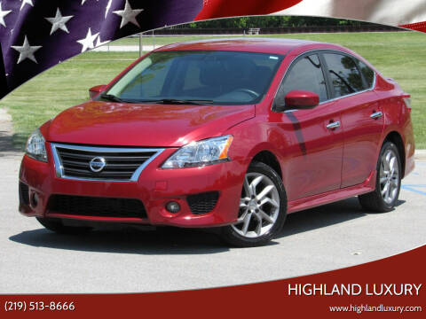 2013 Nissan Sentra for sale at Highland Luxury in Highland IN
