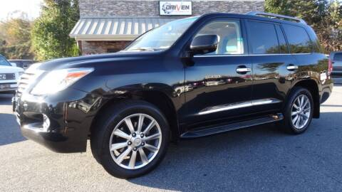 2011 Lexus LX 570 for sale at Driven Pre-Owned in Lenoir NC