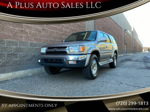 2001 Toyota 4Runner for sale at A Plus Auto Sales LLC in Denver CO