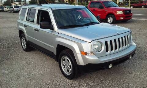2014 Jeep Patriot for sale at Pinellas Auto Brokers in Saint Petersburg FL