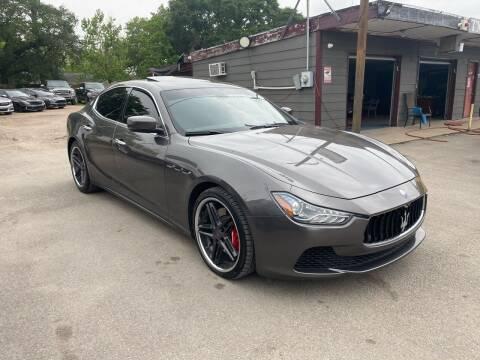 2016 Maserati Ghibli for sale at Texas Luxury Auto in Houston TX