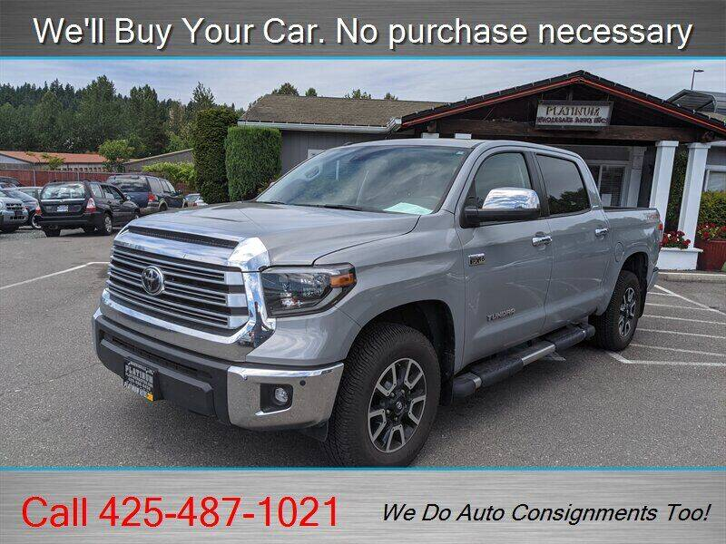 2019 Toyota Tundra for sale in Woodinville, WA