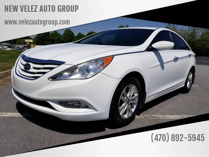 2013 Hyundai Sonata for sale at NEW VELEZ AUTO GROUP in Gainesville GA
