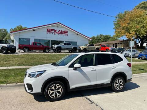 2021 Subaru Forester for sale at Efkamp Auto Sales LLC in Des Moines IA