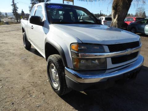 2007 Chevrolet Colorado for sale at VALLEY MOTORS in Kalispell MT