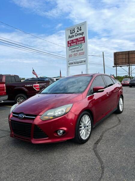 2014 Ford Focus for sale at US 24 Auto Group in Redford MI