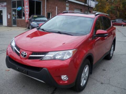 2013 Toyota RAV4 for sale at Charlies Auto Village in Pelham NH