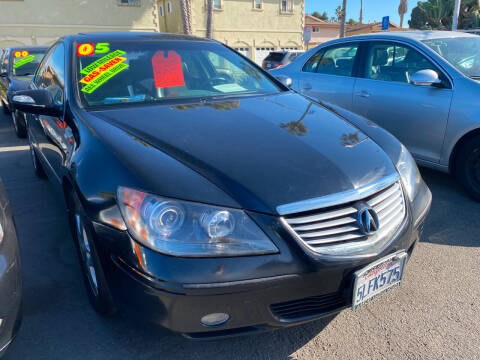 2005 Acura RL for sale at North County Auto - North Auto County 2 in Vista CA