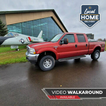 2003 Ford F-250 Super Duty for sale at McMinnville Auto Sales LLC in Mcminnville OR