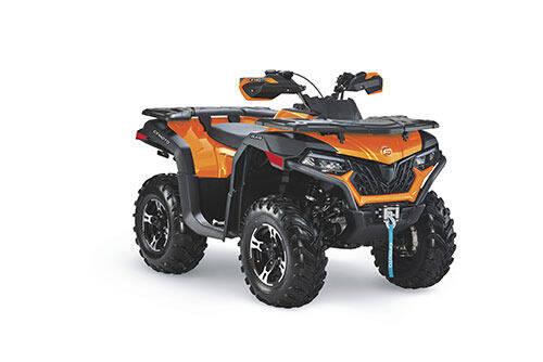 2021 CF Moto c 600  orange for sale at Power Edge Motorsports- Millers Economy Auto in Redmond OR