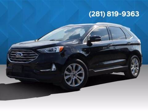 2019 Ford Edge for sale at BIG STAR HYUNDAI in Houston TX