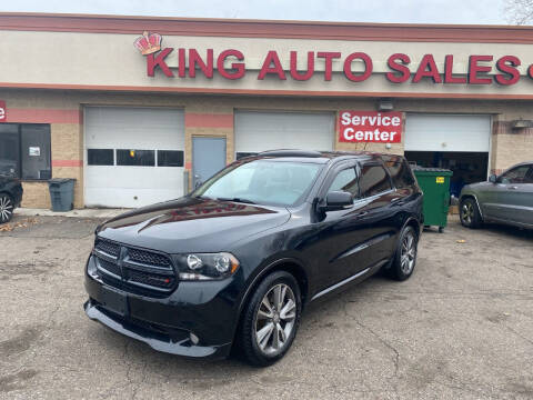 2013 Dodge Durango for sale at KING AUTO SALES  II in Detroit MI