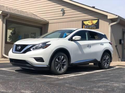 2018 Nissan Murano for sale at MGM Motors LLC in De Soto KS