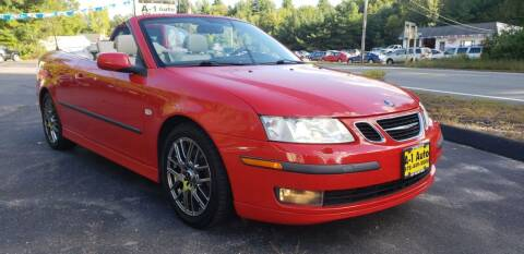 2007 Saab 9-3 for sale at A-1 Auto in Pepperell MA