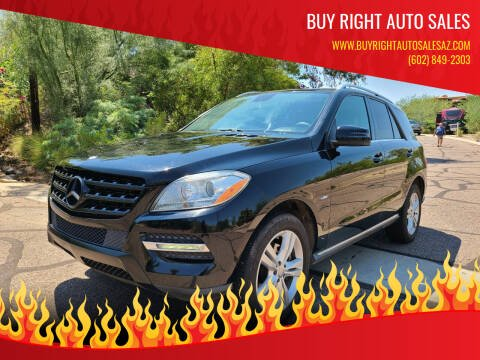 2012 Mercedes-Benz M-Class for sale at BUY RIGHT AUTO SALES in Phoenix AZ