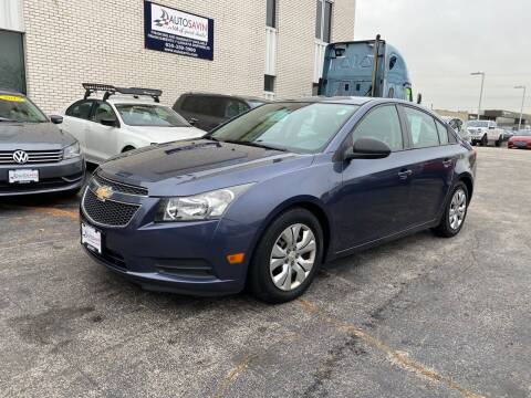 2013 Chevrolet Cruze for sale at AUTOSAVIN in Elmhurst IL