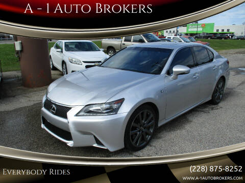 2015 Lexus GS 350 for sale at A - 1 Auto Brokers in Ocean Springs MS