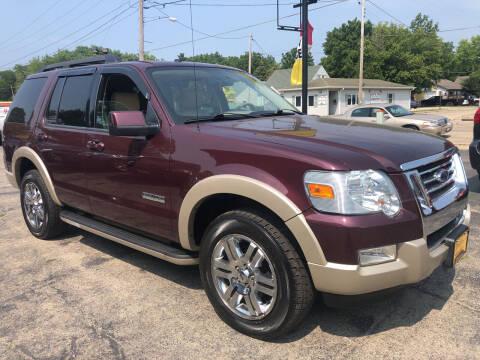 2008 Ford Explorer for sale at COMPTON MOTORS LLC in Sturtevant WI