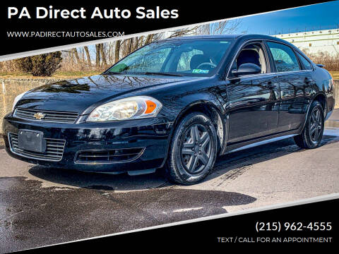 2009 Chevrolet Impala for sale at PA Direct Auto Sales in Levittown PA