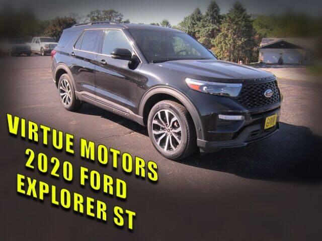 2020 Ford Explorer for sale at Virtue Motors in Darlington WI