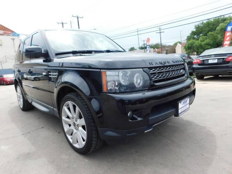 2012 Land Rover Range Rover Sport for sale at AMD AUTO in San Antonio TX