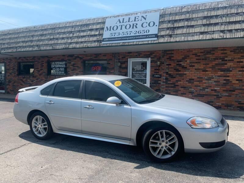 2013 Chevrolet Impala for sale at Allen Motor Company in Eldon MO