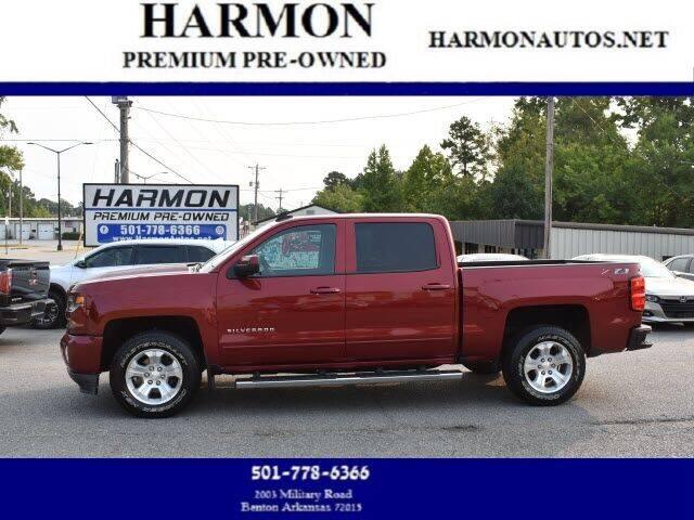 2018 Chevrolet Silverado 1500 for sale at Harmon Premium Pre-Owned in Benton AR