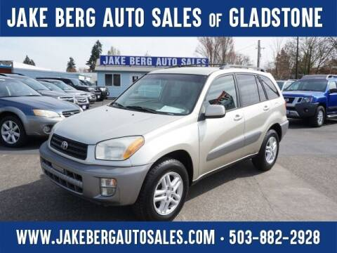 2001 Toyota RAV4 for sale at Jake Berg Auto Sales in Gladstone OR