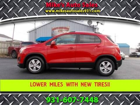 2015 Chevrolet Trax for sale at Mike's Auto Sales in Shelbyville TN