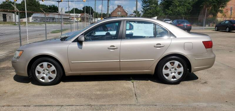2009 Hyundai Sonata for sale at Tims Auto Sales in Rocky Mount NC