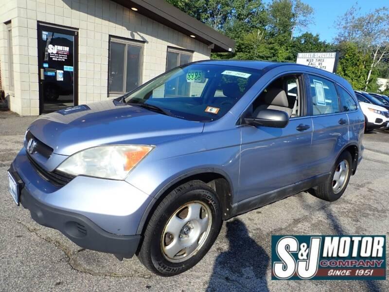 2008 Honda CR-V for sale at S & J Motor Co Inc. in Merrimack NH