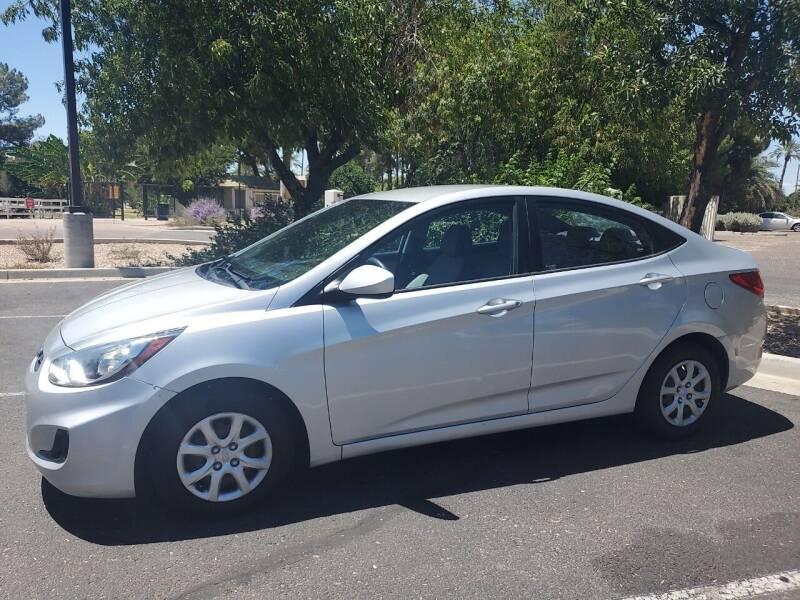 2013 Hyundai Accent for sale at DORAMO AUTO RESALE in Glendale AZ